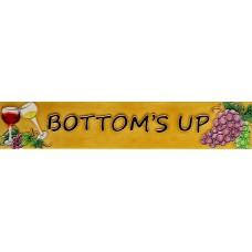 "3"" X 16"" Bottom's up"