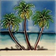 "3""X3"" MAGNET 3 Palm Trees"