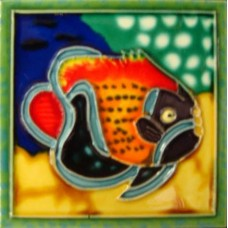 "4"" X 4"" Tropical Fish III"