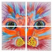 "4""x4"" Set of 4 Art Tiles"