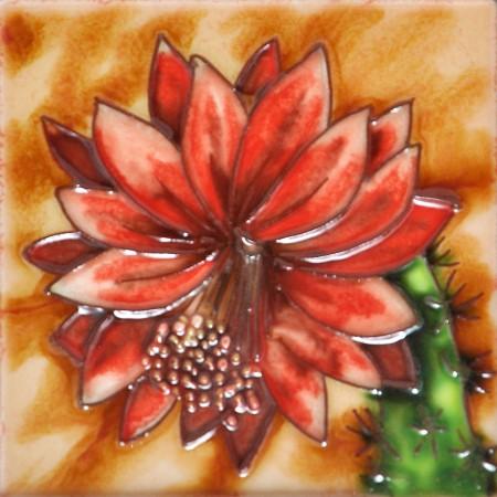 """4"""" X 4"""" Set of 4 - Cactus"""