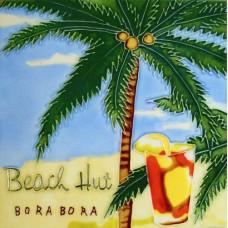 "8""x 8"" Beach Hut"