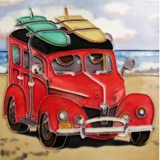 "8""x8"" Woody car"