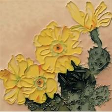 """8""""x8"""" Cactus flower"""