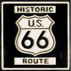 "8""x8"" ROUTE 66"