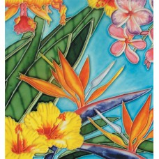 """8""""x8"""" New topical flowers"""