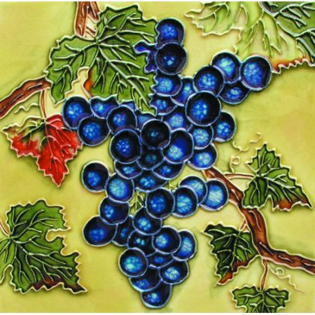 "8""x8"" Purple Grapes"