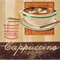 """8""""x8"""" Cappuccino"""