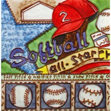 "8""x8"" Sport - Softball"