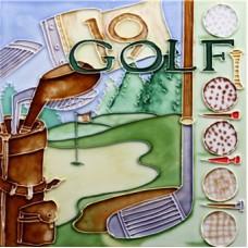 """8""""x 8"""" Sport - Golf"""