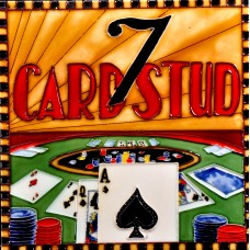 "8""x8"" Casino - Card Stud"