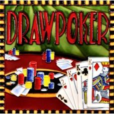 """8""""x8"""" Casino - Draw Porker"""