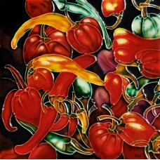 """8""""x8"""" Red Chilies Pepper"""