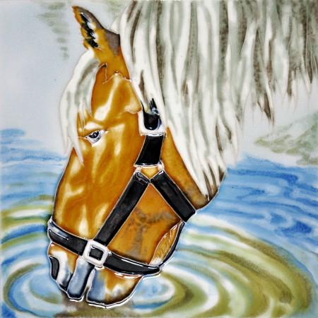 """8""""x8"""" Farm Horse"""