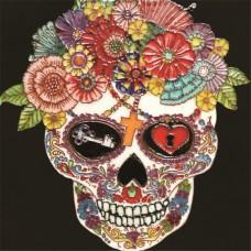 "8""x8"" Dia de Los Muertos - Day of the Dead Skull I"