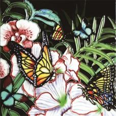 """8""""x8"""" Butterfly Garden"""