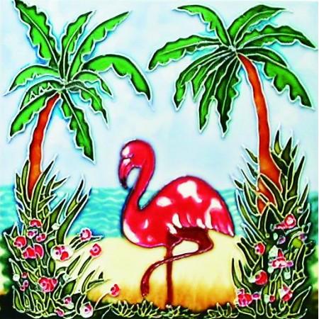 """8""""x8"""" Flamingo"""