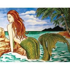 "11""x14""One big mermaid"