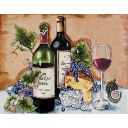"11""x14"" Enzo Blue Grapes with Arch Horizontal"