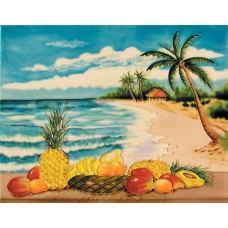 "11""x 14"" Fruits on Beach"