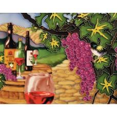 """11""""x14"""" Wine & Grape"""