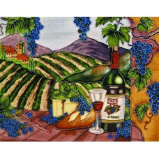 """11""""x14"""" Enzo Blue Grapes with Arch Horizontal"""