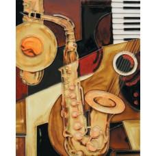 "11""x14"" Saxophone"
