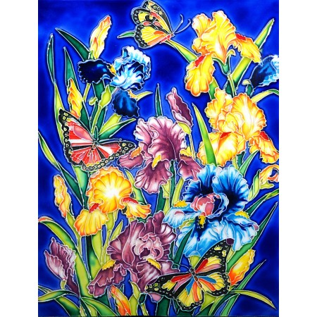 "11""x14"" Water Lilies Dragonflies"