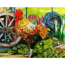 "11""x14"" Rooster"