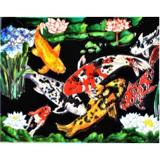 "11""x14"" Patio Koi"