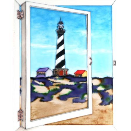 "11""x14"" Window View - Lighthouse"
