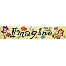 """3""""x 16"""" Imagine"""