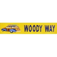 "3"" X 16"" Woody way"