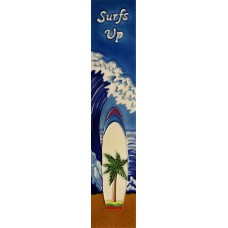 "3"" X 16""  Surfs up"