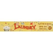 "3"" X 16""  Laundry"