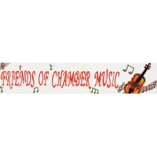 "3"" X 16"" Friends of Chamber Music"