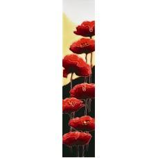 """3"""" X 16""""  Poppies"""
