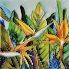 """6""""x6"""" Bird of Paradise Garden"""