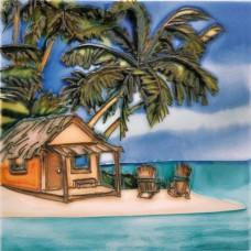 """6""""x6"""" Beach House"""