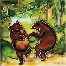"6""x6"" Dancing Bears"