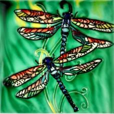 "6""x6"" Twins Dragonfly"