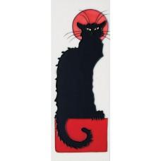 """6"""" X 16"""" Black Cat"""