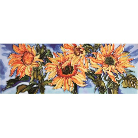 "6"" X 16"" Sunflower"
