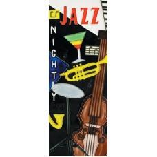 """6"""" X 16"""" Jazz Night"""