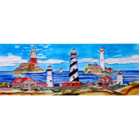 "6"" X 16"" Light House"