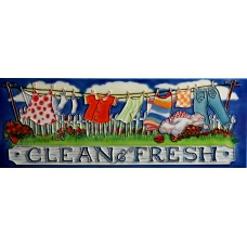 """6"""" X 16"""" Clean & Fresh"""