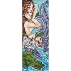 "6"" X 16"" Lotus Mermaid"