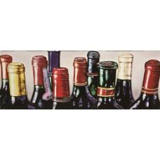 "6"" X 16"" 10 Wine Bottles"
