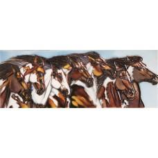 """6"""" X 16"""" 7 Horses"""