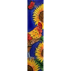 2x8.5 Sunflower Rooster_Left